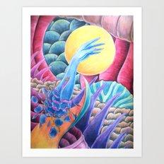 Elevation Through Death (To The Heavens) Art Print