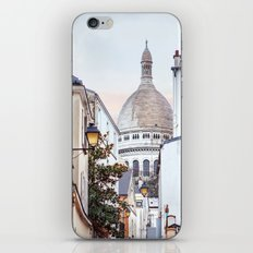 I love Montmartre, Paris. iPhone & iPod Skin