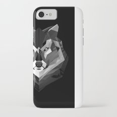 WOLF crash eyes iPhone 7 Slim Case