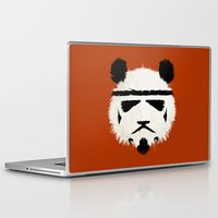 Laptop & iPad Skin featuring Panda Trooper by The Art of Danny Haas