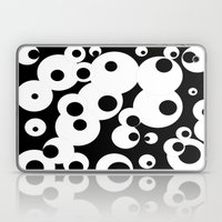 Black & White Laptop & iPad Skin