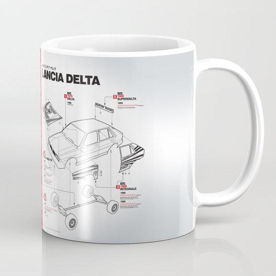 Lancia Delta History Model Kit in the WRC Mug