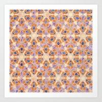 A Kaleidoscopic Fantasy Art Print