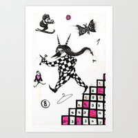 Go ! Art Print