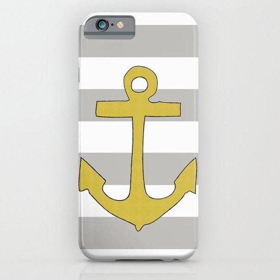 Golden Anchor iPhone & iPod Case