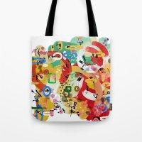 Tote Bag featuring No Idea by Tina Carroll