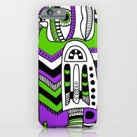 iPhone & iPod Case featuring green eye by Zina Kazantseva