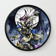 The Nightmare Before Chr… Wall Clock