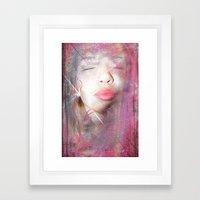Totally Outgoing Framed Art Print
