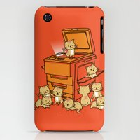 iPhone 3Gs & iPhone 3G Cases featuring The Original Copycat by Budi Kwan