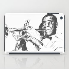 Louis Armstrong, Satchmo or Pops iPad Case