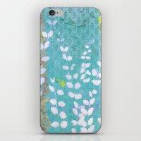 Ferns And Blue Skies iPhone & iPod Skin