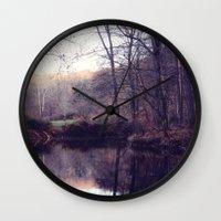 still water Wall Clock