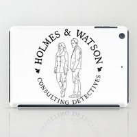 Holmes And Watson Stamp iPad Case