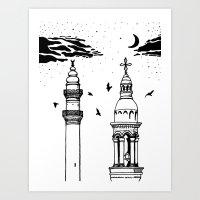 Midyat Art Print
