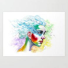 Portrait One Art Print