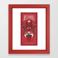 Jellyroll #7: Love Potion #9 Framed Art Print