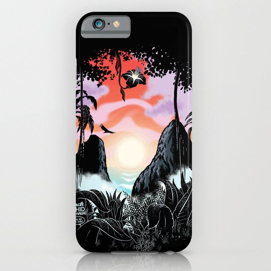 Black orchid iPhone & iPod Case