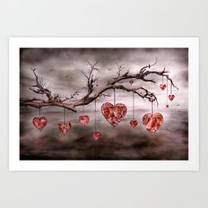 The new love tree Art Print