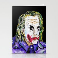 Gotham is Mine - Heath Ledger as The Joker Stationery Cards