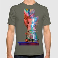 Creature Glitch #2 Mens Fitted Tee Lieutenant SMALL