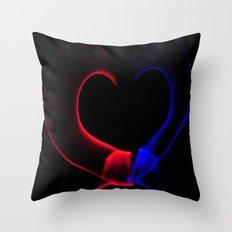 Heart of Light Throw Pillow