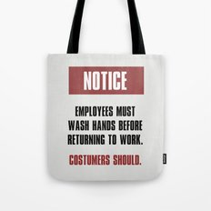 Common Sense Tote Bag