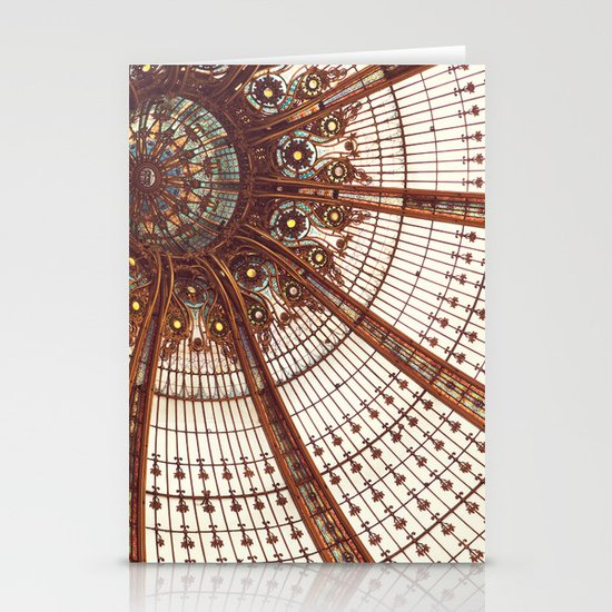 Splendor in the Glass Stationery Card