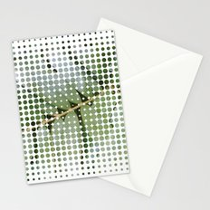 mesh white Stationery Cards