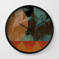 little feather Wall Clock