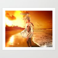 Sundowner II Art Print