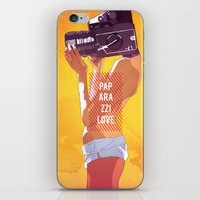 Paparazzi Love iPhone & iPod Skin