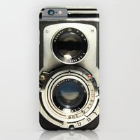 vintage iPhone & iPod Cases featuring Vintage Camera by Ewan Arnolda
