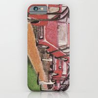 Conveying Cars iPhone 6 Slim Case
