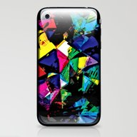 Assorted Shapes And Colo… iPhone & iPod Skin