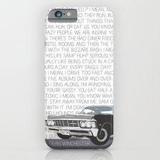 We Hunt Monsters: Supernatural iPhone 6 Slim Case