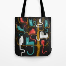 Tote Bag - TREE CATS - Terry Runyan