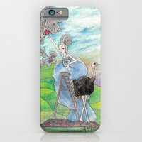 iPhone & iPod Case featuring In  Her Dream...Picking a Fruit by Leyla Akdogan