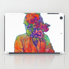 FLOWERS HEAD iPad Case