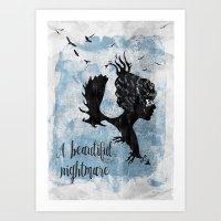 A Beautiful Nightmare Art Print