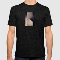 Stand Mens Fitted Tee Tri-Black SMALL