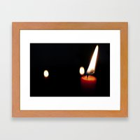 Candle for the Dead Framed Art Print