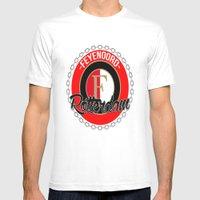Feyenoord Chain Rotterda… Mens Fitted Tee White SMALL