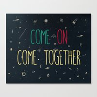 2. Come Together Canvas Print