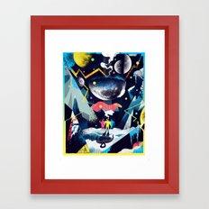 Spiritual Ascent  Framed Art Print