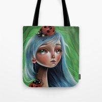 The Lady Bug Tote Bag