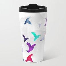 Paper birds Travel Mug