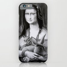 Mona Lisa in the forest iPhone 6 Slim Case
