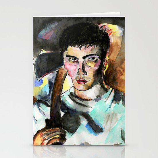 Donnie Darko Portrait Stationery Card