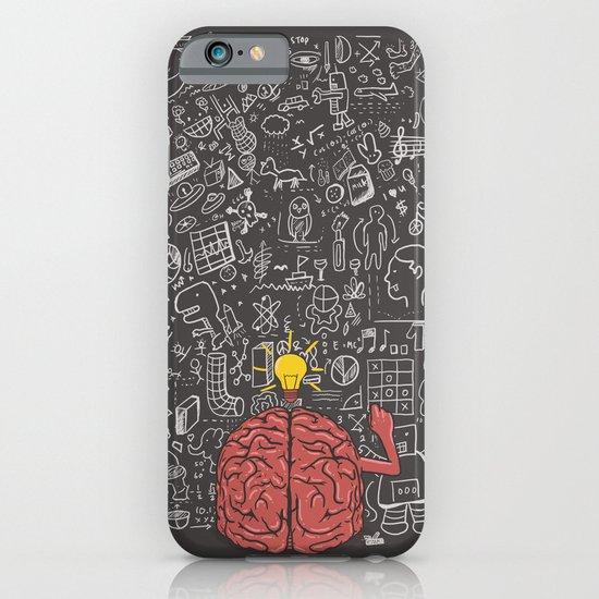 My Brain Won't Stop iPhone & iPod Case